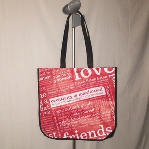 New Lululemon Tote Bag with Button Closure